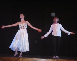 Andrea e Valentina nei panni di Romeo e Giulietta