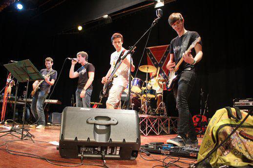 Crashed Minds - Momenti sul palco - Concerto Sound Park Villa Guidini