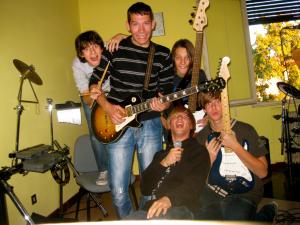 Crashed Minds - La seconda formazione - Servizio fotografico sala prove 2010